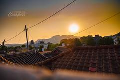 Bukchon ((Caspar)) Tags: sunset korea seoul bukchon    hanongmaeul