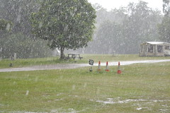 DSC_7074 Just a little bit more Rain if you zoom in you can see it splashing as it is running down the roadway (John Carson Essex R.I.P. John and thank you for be) Tags: thegalaxy supersix rainbowofnature thegalaxystars