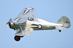 Gloster Gladiator (K7985) (Bri_J) Tags: uk nikon fighter aircraft wwii bedfordshire airshow raf biplane gladiator gloster shuttleworthcollection oldwarden glostergladiator k7985 oldwardenairfield d7200 flynavyairshow