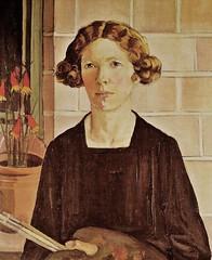 Margaret Preston, Self-Portrait, 1930 (geldenkirchen) Tags: selfportrait 1930 australianartist margaretpreston femaleartist