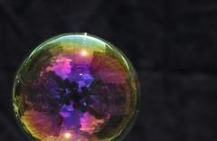 Bubble and Reflection (ertolima) Tags: selfportrait reflection bubbles hmm macromondays