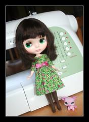 Karrington in Her New Spring Dress