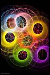 Evolution (Pikebubbles) Tags: longexposure light lightpainting color colour colors night dark circle lights colours bright spin led round leds bold singleexposure physiogram davidgilliver