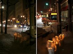 Yukiakari on the ordinary scene in Otaru (mamako7070) Tags: winter light snow bus ice up festival night geotagged town hokkaido candle path otaru gleaming   yukiakari yukiakarinomichi otaruyukiakarinomichi  otarusnowgleamingpath otarufan otarusnowlightpass geo:lat=4319684956832387 geo:lon=14100171893011088