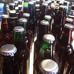 "Project 2012; Day 63 ""I helped bottle beer today"" (cindeeluwho1) Tags: square squareformat normal iphoneography instagramapp uploaded:by=instagram"