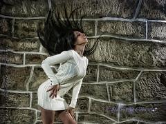 Hair (Isidr Cea) Tags: girl hair chica pelo olympuse3 isidrocea isidroceagmailcom saramachfouk