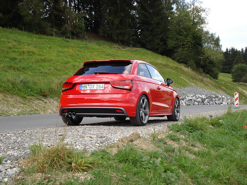 Audi A1 S Line Misanorot In Den Allgauer Alpen 09 A Photo On