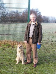 "Walking my dog, Buster, in Tollcross Park • <a style=""font-size:0.8em;"" href=""http://www.flickr.com/photos/78019326@N08/6835757158/"" target=""_blank"">View on Flickr</a>"