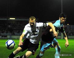 Drogheda v Dundalk (ExtratimePhotos) Tags: football larry drogheda dundalk mcquillan airtricity
