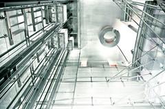 Elevator (Markus Kolletzky) Tags: elevator fahrstuhl linien futuristisch kinemathek