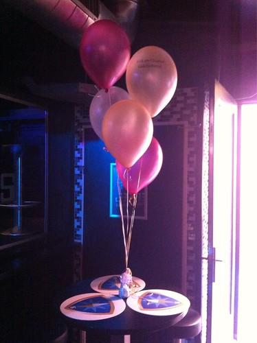Tafeldecoratie 5ballonnen Bar Tops Spijkenisse