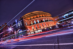 Royal Albert Hall (violinconcertono3) Tags: london night landscapes royalalberthall unitedkingdom fineart totem lighttrails fineartphotography southkensington london2012 cirquedesoleil londonist fineartphotographer londonphotographer 19sixty3