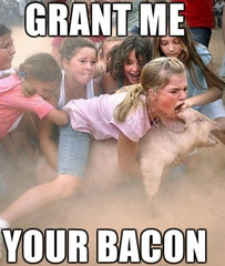 Lol (Grant Me Your Bacon!) Tags: