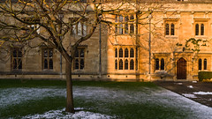 oxford-21-110212 (Snowpetrel Photography) Tags: winter snow stone architecture buildings stonework oxford urbanlandscapes magdalencollege afternoonlight oxfordcolleges smcpda1650mmf28edalifsdm pentaxk5