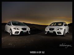 2 leones (selodominguez) Tags: coche león 2012 week6 strobist seatleón canon1020 canon40d selodominguez 522012 52weeksthe2012edition weekoffebruary5