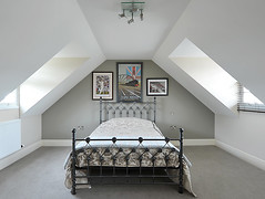 Attic Bedroom (petehelme.co.uk) Tags: interiordesign countrylife countryliving worldofinteriors interiorphotography homesgarden realestatephotography moderninteriordesign d700 countrychic modernbedroom englishhomes professionalinteriorphotography