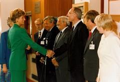 18 Princess Diana opening hospital-Manor-date (Voices Through Corridors) Tags: princessdiana officialopening
