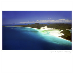 Whitehaven beach - Whitsunday Passage Queensland (Ingrid Douglas Images - ART in Photography) Tags: australia whitehavenbeach queenslandaustralia whitsundaypassage ingriddouglasphotography seaplanejourney
