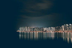 (jim_213) Tags: city light sea night buildings hongkong sony nightview a55 sal1680z