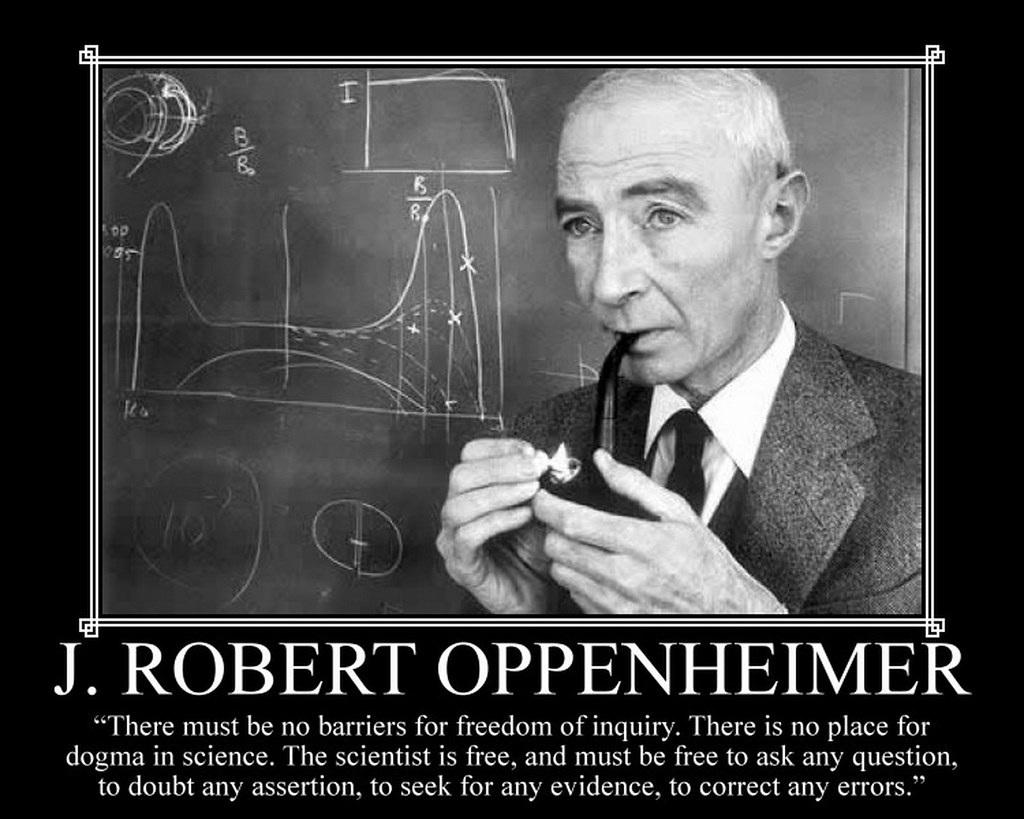 Oppenheimer Quote The World's Newest Photosmirabell214  Flickr Hive Mind