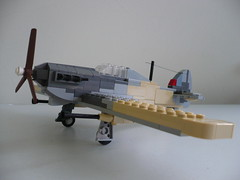 Hawker Hurricane IID (main) (Rebla) Tags: africa lego wwii ww2 hawkerhurricaneiid