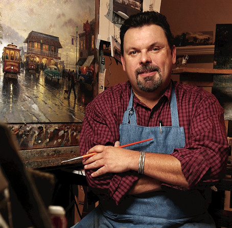 THOMAS KINKADE Dead at 54  RIP