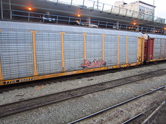 soy 2 (..bloodsweatandyears..) Tags: west cn train bench graffiti coast bc cp freight bnsf rolling sry