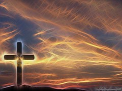 Cross & Sky Christian Wallpaper Background a GIMP edit of my original
