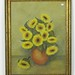 "283. ""Sunflowers"" Pastel by Lloyd Drye"