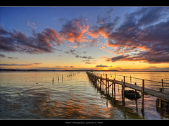 23.2012 - Sunset in Poole.F (Pawel Tomaszewicz) Tags: uk light sunset wallpaper england sky eye colors beautiful architecture clouds photoshop sunrise canon lights pier europe angle harbour jetty wide wideangle fisheye dorset lightning bournemouth molo hdr poole fable hdri anglia iphone pawel ipad architektura chmury photomatix wyspa wyspy eos400d wymouth tomaszewicz paweltomaszewicz