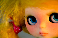 OOAK blue intense eyes