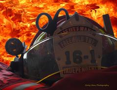 Helmet c_Flames_5 copy (haas.craig) Tags: rescue tower photoshop truck fire nikon smoke helmet 911 engine scene hose firetruck d200 firefighting firedepartment ldh firefighters carfire lr lightroom pumper towerladder turnoutgear brushtruck emergencyservice fireground firescene bunkerpants smokecondition
