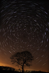 Star trails (-.-. --.-) Tags: longexposure light rural stars north pole pollution astronomy startrails pagnell hooton canoneos40d