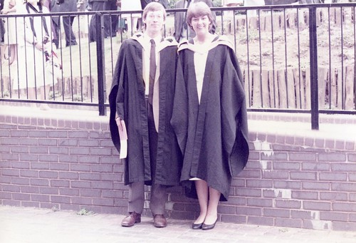 Graduation Sheffield 1984
