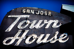 San Jose Town House, Plate 2 (Thomas Hawk) Tags: california usa neon unitedstates unitedstatesofamerica sanjose motel southbay townhousemotel