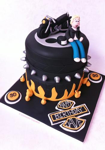 Birthday Cake - Born to Ride