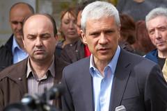 Boris Tadić u poseti domaćinstvu Saše Mladenovića u Tekiji