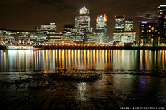 night shoot-3818_20120308.jpg (imran*) Tags: uk longexposure london water canon wideangle 7d gb docklands canarywharf 2012 londonlandmarks londonbuildings sigma10mm20mm canon7d