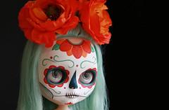 j calavera (Kittytoes) Tags: dayofthedead skull sugar diadelosmuertos calavera melancholykitties