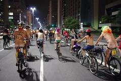 Peladada (WNBR 2012) (L'cureuil) Tags: bike saopaulo bicicleta sp worldnakedbikeride wnbr peladada