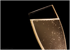 Cheers! (skippys1229) Tags: macro glass canon champagne flute 100mm celebration canonrebel sparkling bubbly 2012 macrolens canonef100mmmacrousm champagneflute fakechampagne strobist macromonday rebelt1i t1i canonrebelt1i ourdailychallenge odc3