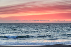 Bodega Bay at Sunset (Tōn) Tags: ocean sunset seascape beach nature water waves unitedstates pacific sonoma pacificocean bodegabay waterscape sonomacoast sonomacoaststatebeach tonyvanlecom
