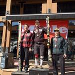 Panorama Miele Cup Spring Series 2012 - Day 1 Men's Overall Slalom Podium 1. Paul Stutz; 2. Sasha Zaitsoff; 3. Sean Alexander PHOTO CREDIT: Brandon Dyksterhouse