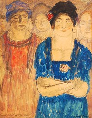 Walkowitz, Abraham (1878-1965) - 1904 Women (Private Collection) (RasMarley) Tags: portrait women american painter impressionism groupportrait russian 20thcentury 1904 1900s privatecollection walkowitz abrahamwalkowitz