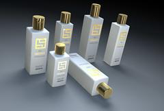 3D Bottle Visualisation (COGmedia) Tags: 3d bottle model render plastic product visualisation