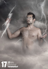 Mythology (17/52) (LEVARWEST) Tags: storm me autoportrait zeus nuage mythology dieu mythologie clair levarwest