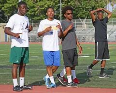 D100991A (RobHelfman) Tags: sports losangeles track highschool practice crenshaw christianwilliams nolangrigsby arreonmolina ajeneharris