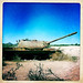 Old USSR Tank Abandoned In The Desert, Berbera, Somaliland