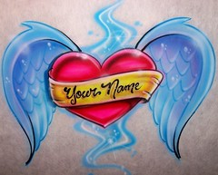 Your Name Heart With Wings Tattoos Design 108 (tattoos_addict) Tags: design wings with heart name tattoos your 108 skulltattoos hearttattoos keytattoos