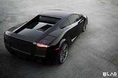 LAB Forged LB7   Lamborghini Gallardo (LABforged) Tags: black gray titanium lamborghini graphite mash concave gallardo gunmetal lambo staggered lb7 silverlip